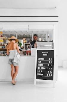 Restaurant-standmodell