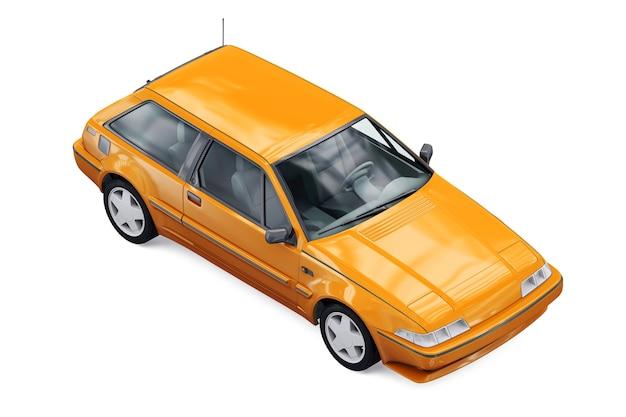 Retro coupé auto 1987 modell