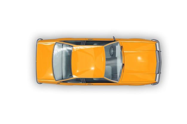 Retro coupé auto modell