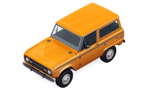 Retro suv 4x4 auto 1975 modell