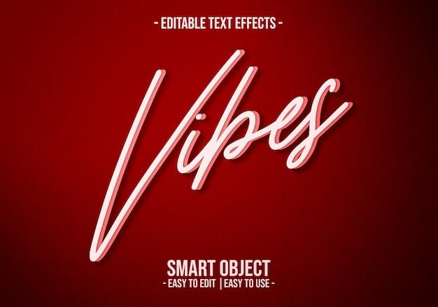 Retro vibes-texteffekt