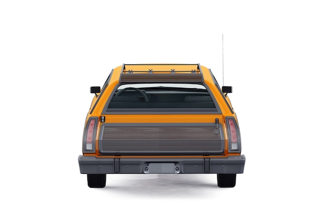Retro wagen kombi auto 1973 modell