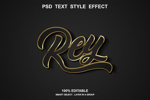 Rey-texteffekt