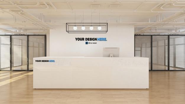 Rezeptionsmodell des corporate business office