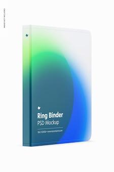 Ringbuch-modell, ansicht von links