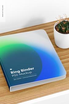 Ringbuch-modell, ansicht von oben