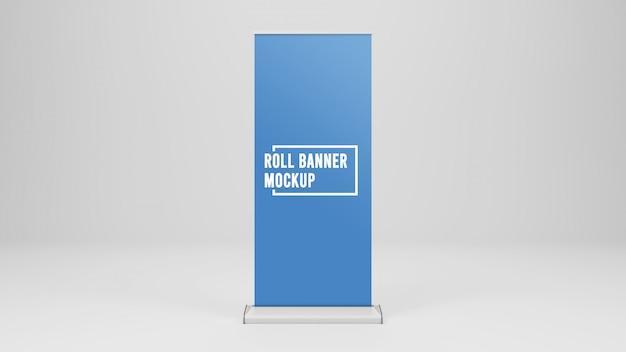 Roll up banner modell