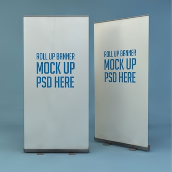Roll-up stand modell