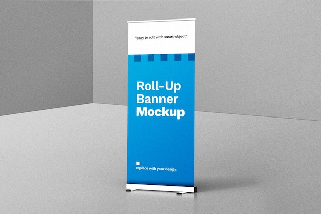 Rollup-banner-modell