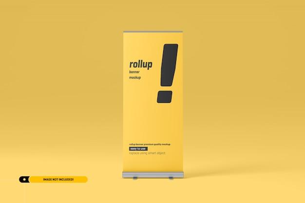 Rollup oder x-banner mockup