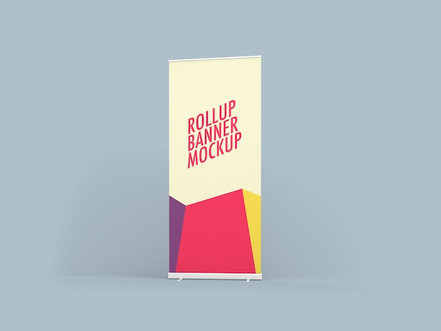 Rollup xbanner mockup