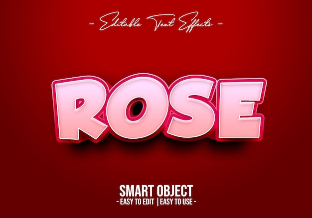Rose textstil