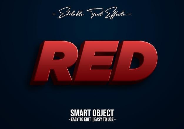 Rot-text-stil-effekt