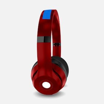 Rotes kopfhörermodell