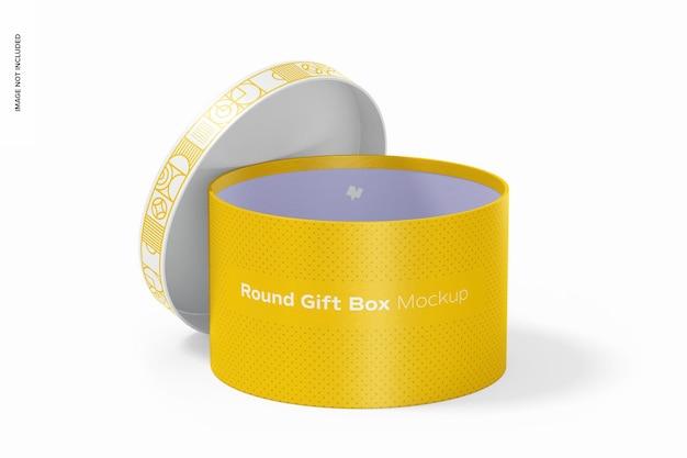 Rundes geschenkbox-modell