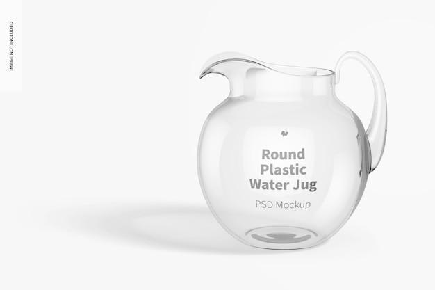 Rundes plastik-wasserkrug-modell
