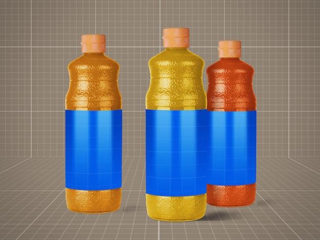 Saftflaschen modell