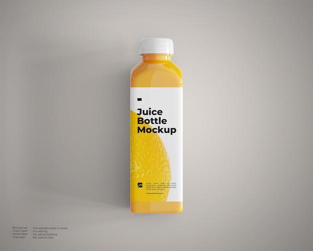 Saftflaschenmodell draufsicht