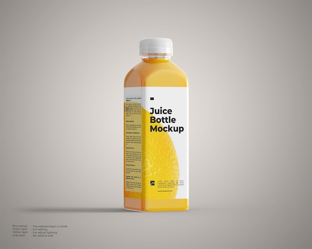 Saftflaschenmodell