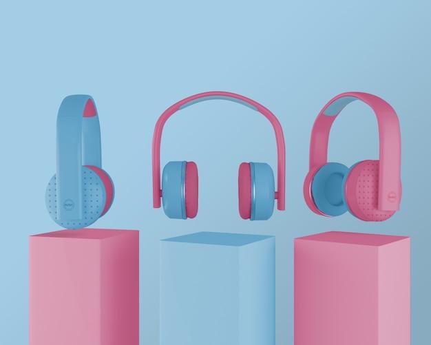 Sammlung von 80er kopfhörer