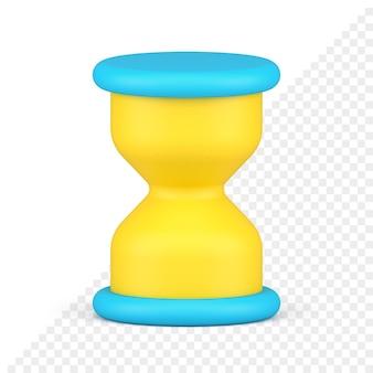 Sanduhr 3d-symbol