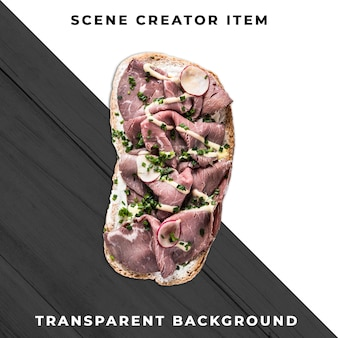 Sandwichscheibe transparente psd