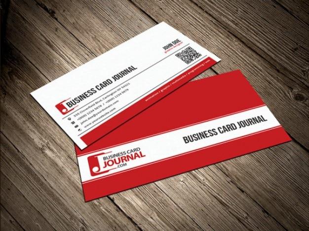 Saubere unternehmens visitenkarte vorlage