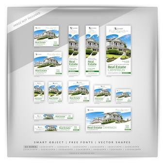 Saubere weiße immobilien google & facebook ads