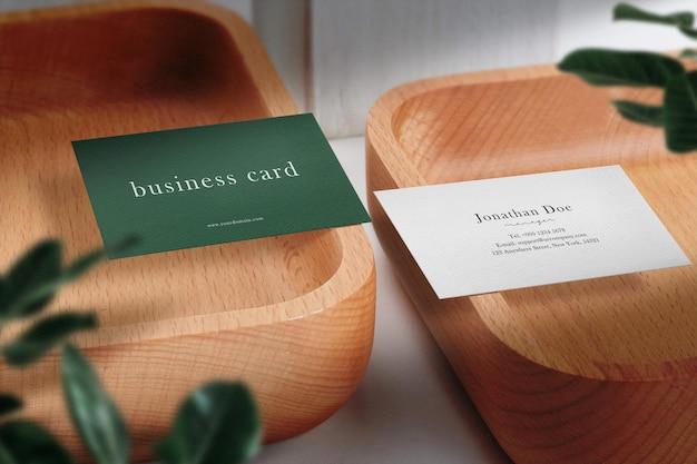 Sauberes minimales visitenkartenmodell