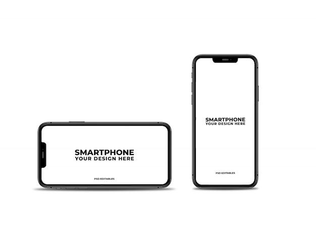 Sauberes smartphone-modell