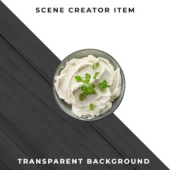 Saucenplatte objekt transparent psd