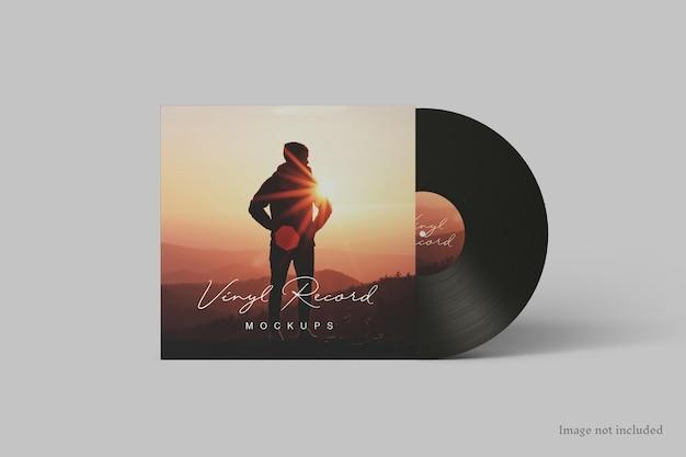 Schallplatten-cover mockup