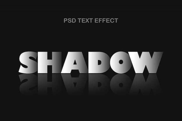 Schatteneffektvorlage