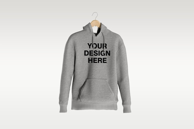 Schaufenster des hoodie-modellentwurfs isoliert isoliert