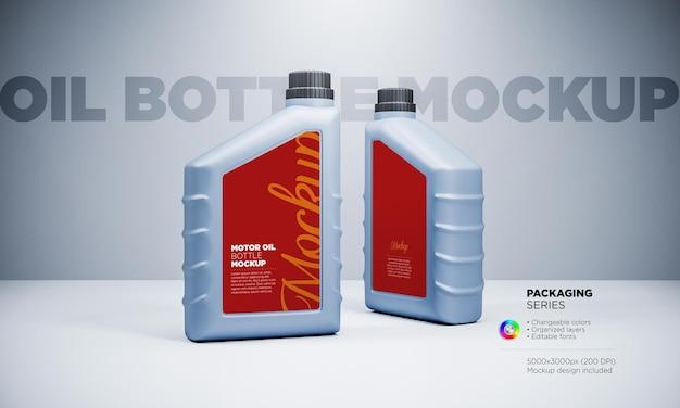 Schmieröl-plastikflaschenmodell