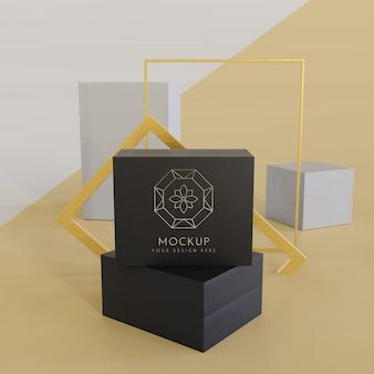 Schmuckverpackungsanzeige modell