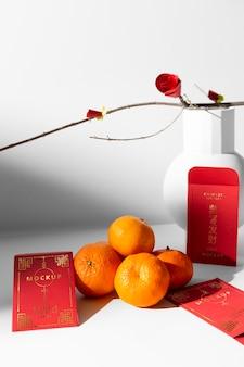 Schönes chinesisches neujahrskonzeptmodell