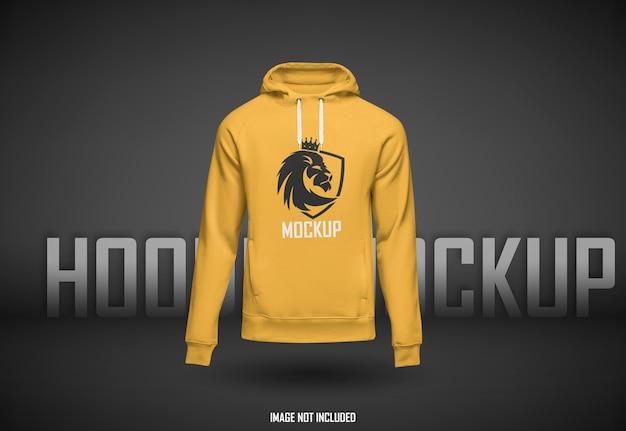 Schönes hoodie-modell isoliert
