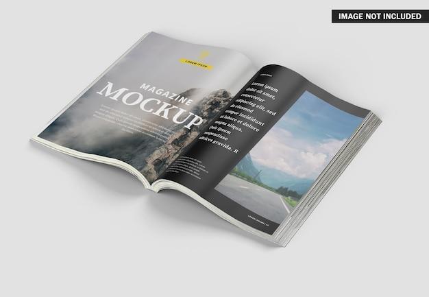 Schönes magazin cover mockup design