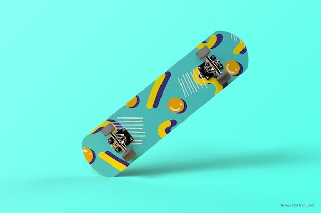 Schönes minimalistisches skateboardmodell