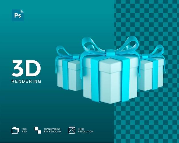 Schönes set geschenkbox design