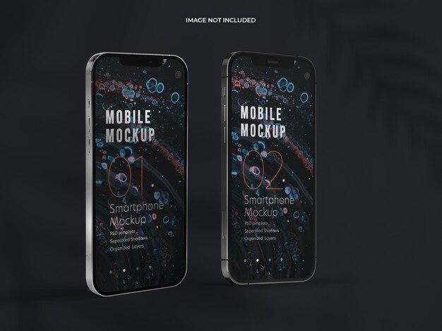Schönes smartphone-modelldesign