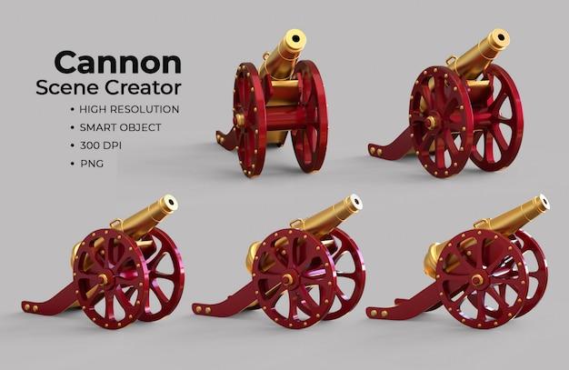 Schöpfer der islamischen kanonenszene