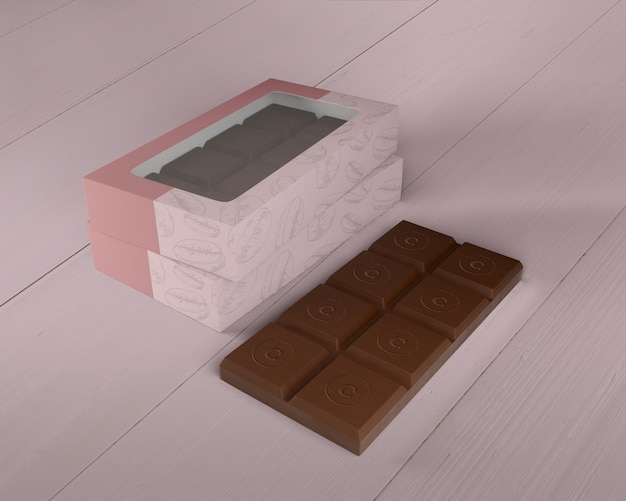 Schokoladenkasten-design-modell