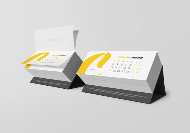Schreibtischkalender-modell