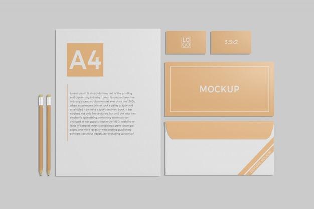 Schreibwaren-branding-modell