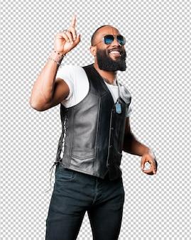 Schwarzer mann tanzen