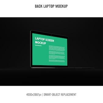 Schwarzes laptop-modell
