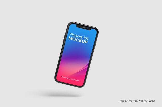 Schwimmende smartphone-modelle