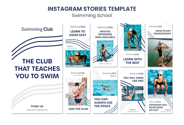 Schwimmschule instagram geschichten